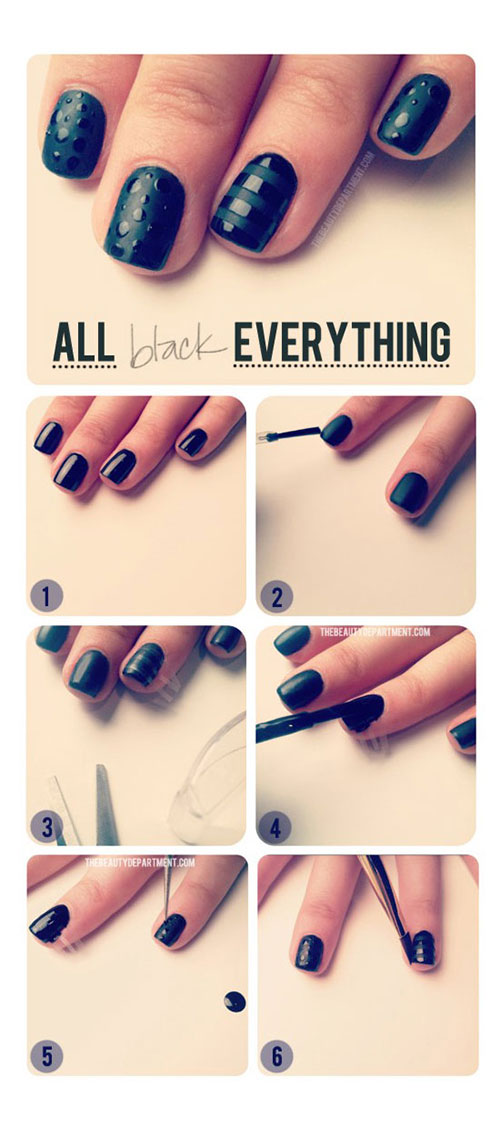Easy Nail Art For Beginner