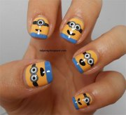 minions nails 2013 2014 despicable