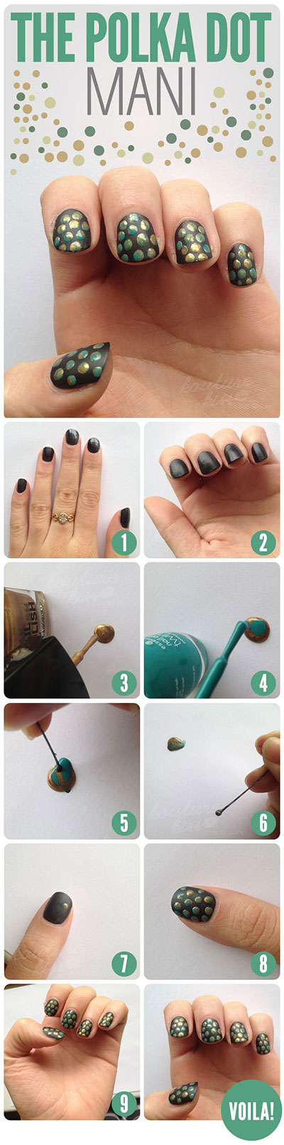 Step By Nail Art Tutorials For Beginners