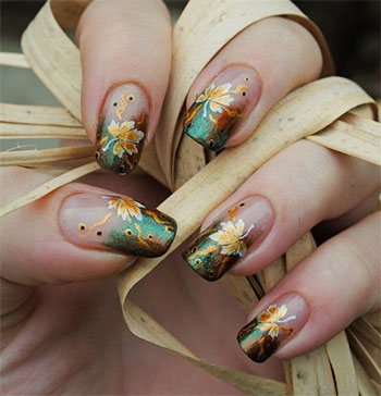 Autumn Nails Are Talk Of The Town Because They Vivacious And A Lot Diffe So Why Not To Give Them Try This Season