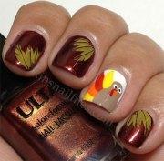 creative thanksgiving nail art