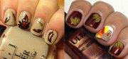 scary halloween mummy nail