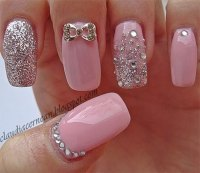 Pink Nail Art Designs & Ideas 2013/ 2014 | Fabulous Nail ...