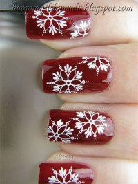 Amazing Collection Of Christmas Nail Art Designs & Ideas ...