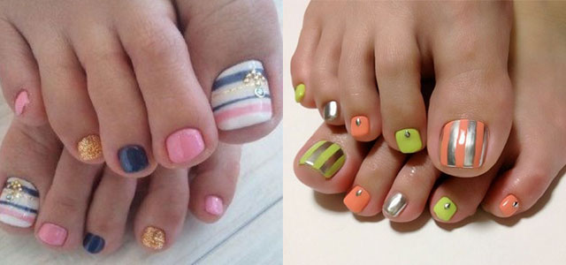 Nail Art Designs For Toes 2013 To Bend Light