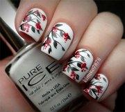 creative winter nail art design