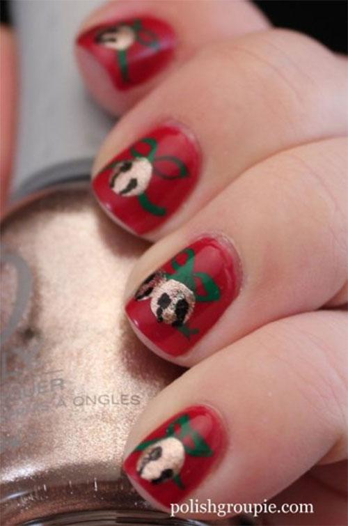Cute & Easy Christmas Nail Art Designs & Ideas 2013/ 2014