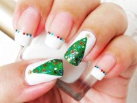 Easy Christmas Tree Nail Art Designs & Ideas 2013/ 2014 ...