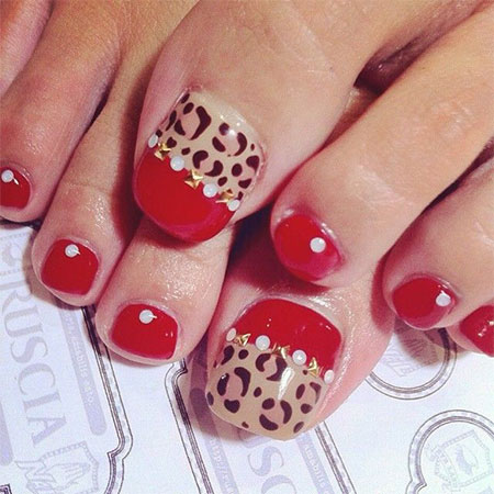 Easy & Cute Toe Nail Art Designs & Ideas 2013/ 2014 For