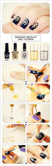 easy & simple year nail art