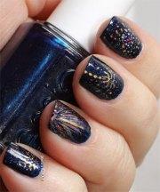 happy year nail art design