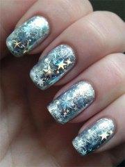 inspiring winter nail art design