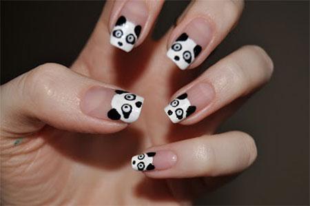 Cute Panda Nail Art Designs  Ideas 2013 2014  Fabulous