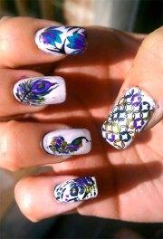 cute zoo & farm animals nail art