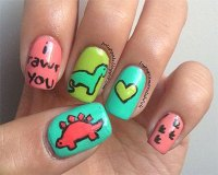 Cute Zoo & Farm Animals Nail Art Designs & Ideas 2013 ...