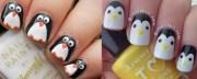 penguin nailsfabulous nail art