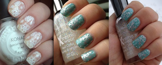 Simple Winter Nail Art Ideas For Short Nails 80