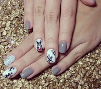 Easy & Simple Winter Nail Art 2013/ 2014 For Beginners ...