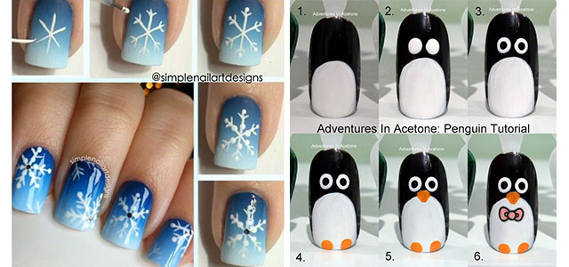 Beautiful And Cute 5 Nail Art Designs Tutorial Step By 2