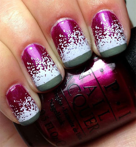 Easy Winter Snowflake Nail Art Ideas Designs For S