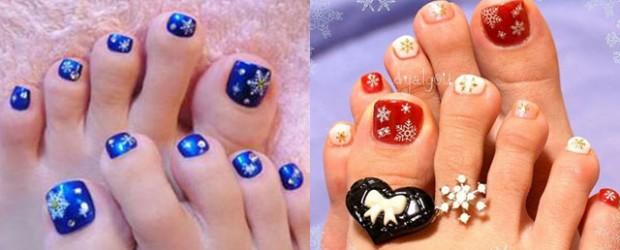 Winter Toe Nail Art Ideas Fabulous Nail Art Designs