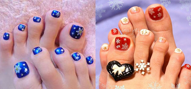 Winter Toe Nail Art Designs Ideas For S 2017 Fabulous