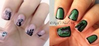 Easy & Simple New Year Nail Art Tutorials 2014/ 2015 For ...