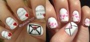 amazing acrylic nail art design