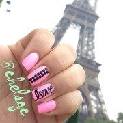 love nail art design & ideas 2014