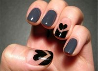 Simple Nail Art Designs & Ideas For Valentine's Day 2014 ...