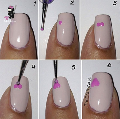Amazing Valentine S Day Nail Art Tutorials 2017 For Ners