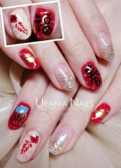 Elegant Chinese Nail Art Designs Ideas 2017 Fabulous