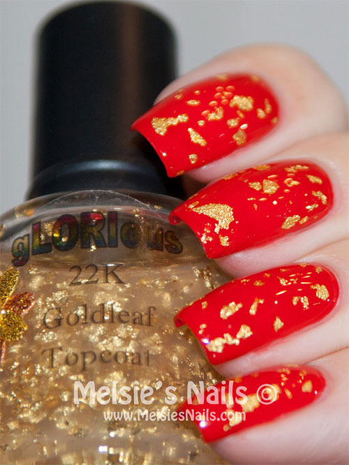 Inspiring Chinese New Year Nail Art Designs Ideas