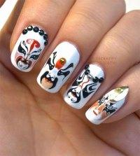 Inspiring Chinese New Year Nail Art Designs & Ideas 2014 ...