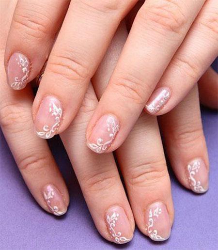 Smashing Glitter Wedding Nail Art Designs Ideas 2016 Fabulous