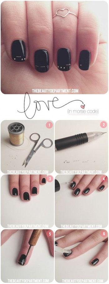 10 Hot Valentine S Day Nail Art Tutorials To Copy