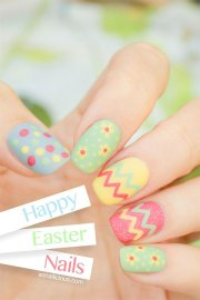 amazing easter nail art design