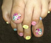 Cool Spring Toe Nail Art Designs, Ideas & Trends 2014 ...