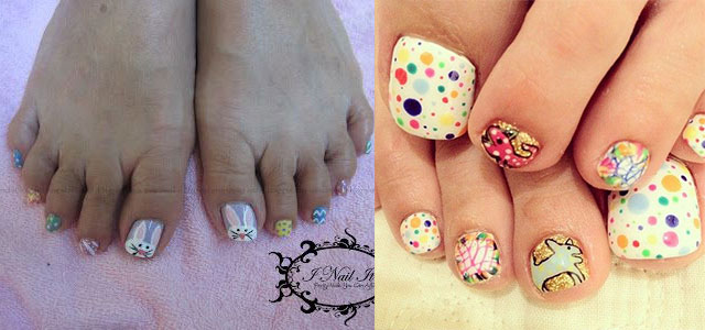 Cool Spring Toe Nail Art Designs Ideas Trends