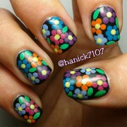 smashing spring time flower nail