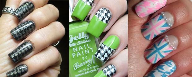 Toe Nail Art Stickers H0tg82 World
