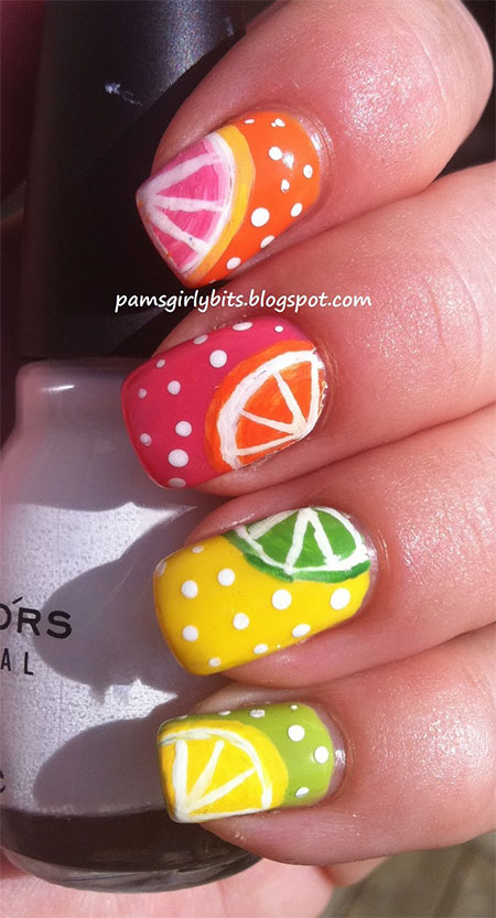30 Cute Summer Themed Nail Art Designs Ideas  Trends