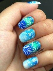 disney frozen elsa nail art