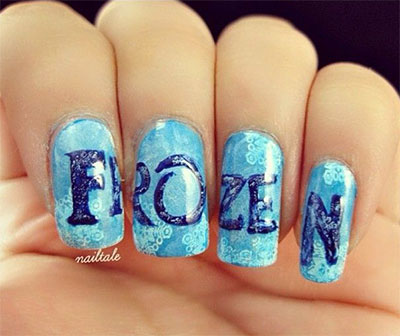 Source French Disney Nails