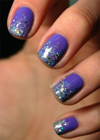 15 + Glitter Gel Nail Art Designs, Ideas, Trends ...