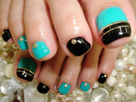 Nail Art Designs For Toes Step By