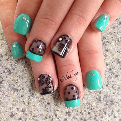Fall Cute Gel Nail Design