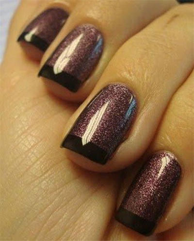 15 Glitter Gel Nail Art Designs Ideas Trends