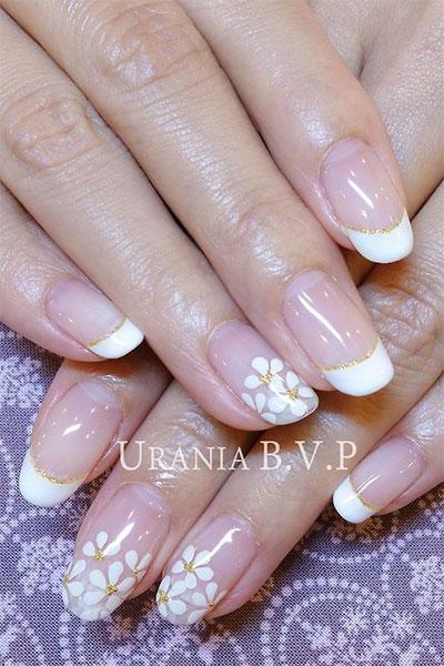 Prev Next Cute Gel Nails French Manicure Y Clic Beauty
