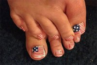 Elegant Fourth Of July Toe Nail Art Designs, Ideas ...